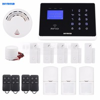 Android IOS App Wireless GSM Autodial Home Office Burglar Intruder Alarm System