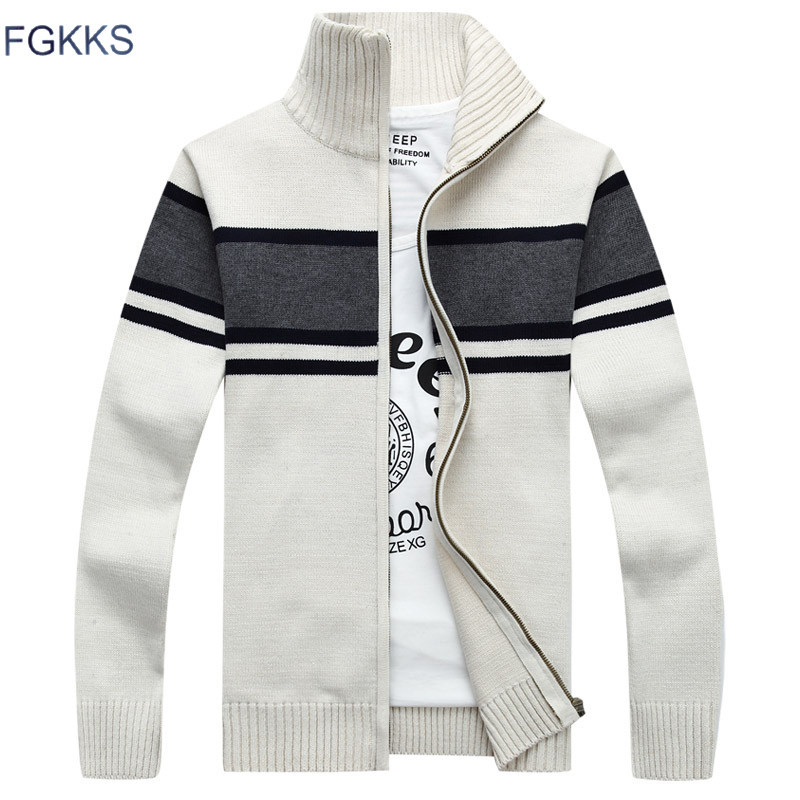 Sweaters Men's Clothing Able Afs Jeep Brand Autumn Sweater Men Striped Patchwork Color V-neck Cardigans Men M-3xl Knitted Wear Cardigan Masculino Men Sweater