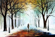 palette knife oil painting  modern oil painting canvas oil painting K288