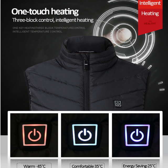 USB Infrared Heating Vest 2