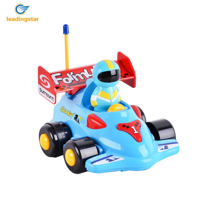 leaadingstar radio control toy new toddlers rc electric toys kids rc high speed cute cartoon musical