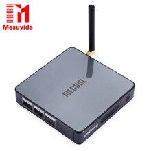 Оригинал Mesuvida MECOOL S912 BB2 PRO Android 6.0 Окта основные TV Box Amlogic поддержка BT 4.0 Потоковое Media Player