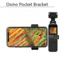 лучшая цена DJI Osmo Pocket Metal Phone Holder Bracket Stand Connector Linker Mount Adapter Handheld Gimbal Camera Stabilizer Accessories