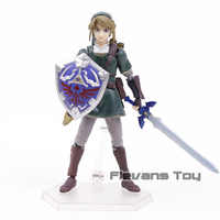 Twilight Princess link Figma 320 Deluxe Edition PVC Action Figure Collectible Model Toy