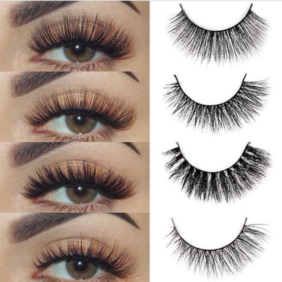 Good False Eyelashes Makeup 3d Mink Eyelashes Extension Fake