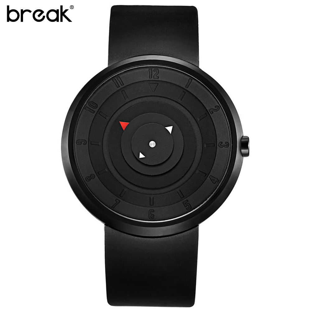 aliexpress com buy break futuristic luxury men women black aliexpress com buy break futuristic luxury men women black waterproof fashion casual military quartz hot brand sports watches wristwatch from reliable
