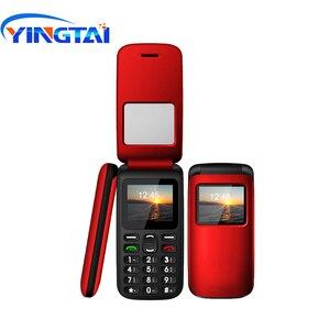 Image 5 - YINGTAI T40 big push przycisk tanie telefon z klapką dla starszych odblokowany 1.77 cal bezprzewodowy FM SOS, proszę kliknąć na alibaba express telefon komórkowy