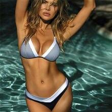 Fashion New Womens Padded Push-up Bra Set Swimsuit Bathing Suit Swimwear