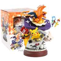 Anime Pikachu Charmander Mew Action Figure GK Model Game machine Decoration Toys
