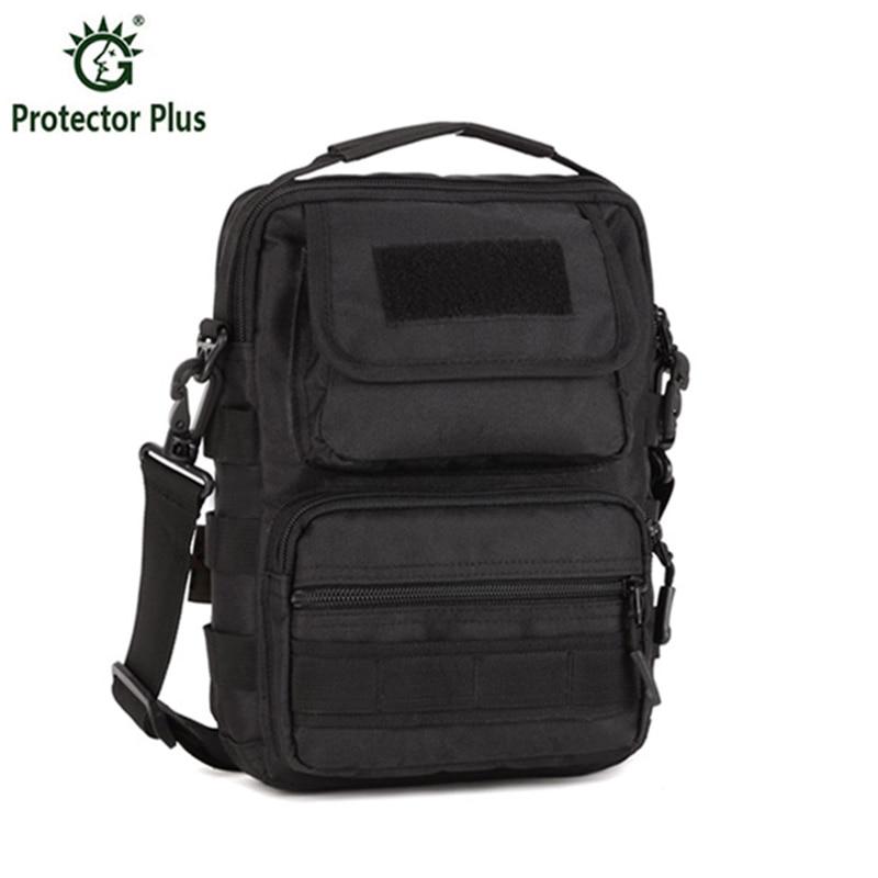ФОТО Men's Molle Satchel Single Shoulder Bag Waterproof Durable Messenger Military Army Bag Out door Bag Military Equipment