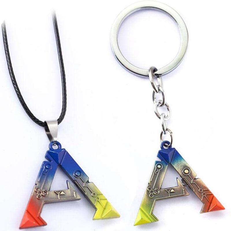ARK Survival Evolved KeyChain Keyring Fashion Men Women Key Rings  Gift Chaveiro Car Toy Jewelry Game Key Holder Souvenir