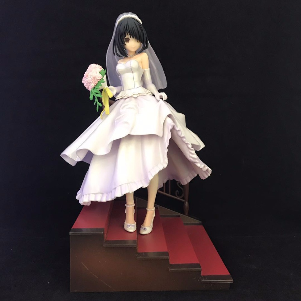 Collect Anime DATE A LIVE Tokisaki Kurumi Underwear PVC Figure 23cm BOX