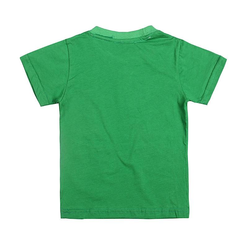 2-8år 2019 Sommartoppar Ben 10 Kostymer Pojkar T-shirt Korta ärmar - Barnkläder - Foto 2
