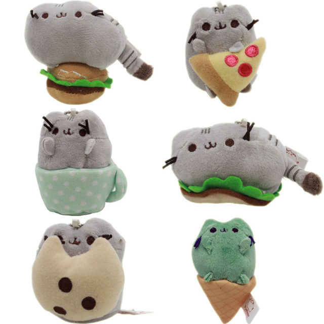 fat jeopard donkey cute exquisite plush doll pusheen biscuits cup