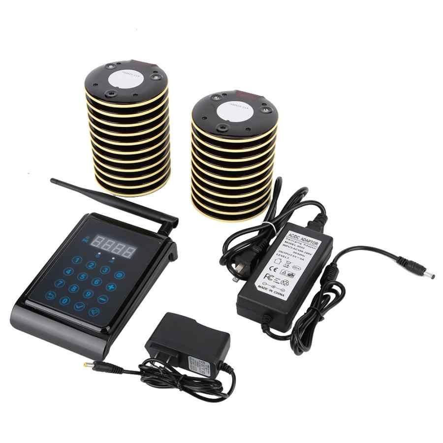 15 個の受信機 1 PC キーボードワイヤレス通話システム長距離ページャ受信機 1 × トランスミッタボード 15 × レシーバポケベル