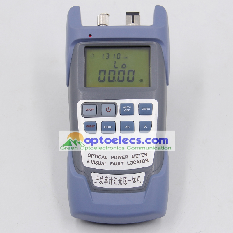 Free shipping 2 in 1 Optical Multi Meter Optical Power Meter and 5KM VFL