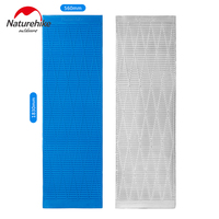 Naturehike Portable Outdoor Moisture Proof Camping Mattress Aluminum Coating Sleeping Pad Single Person Hiking Tent Mats