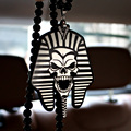Pharaoh Egypt Ho Car Auto Fashion Pendant JDM Interior Rear View Mirror Ornament Hanging Dangle Charm Acrylic Duplex Car-Styling