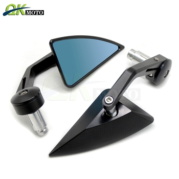 For YAMAHA R6S 2003-2005 3D GSXR600 GSXR750 KTM 300EXC 350SXF 450SXF FREERIDE 350 Universal Aluminum Motorcycles Rearview Mirror