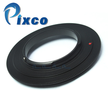 Anillo adaptador inverso Macro de lente 62mm M4/3 para cámara Micro cuatro TERCIOS