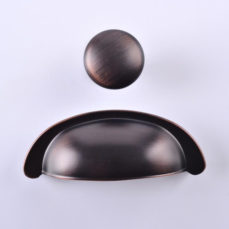 Drawer Pull Handles Dresser Pulls Handles Knobs  Silver Decorative Furniture Cabinet Pull Handle Knob