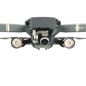Image 3 - 1 bộ Đêm Bay DẪN Chiếu Sáng Ánh Sáng Sử Dụng của AA pin nhiếp ảnh Phụ Tùng đèn cho DJI Mavic Drone pro phụ kiện