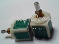 Japan pulse switch P203 0 7 six rows 40 step Luoya 20mm package