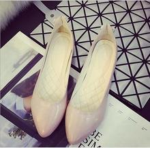 Free shipping!!!     2016 new women's shoes in Europe and America female short shallow mouth pointed shoes with a small heel 3cm