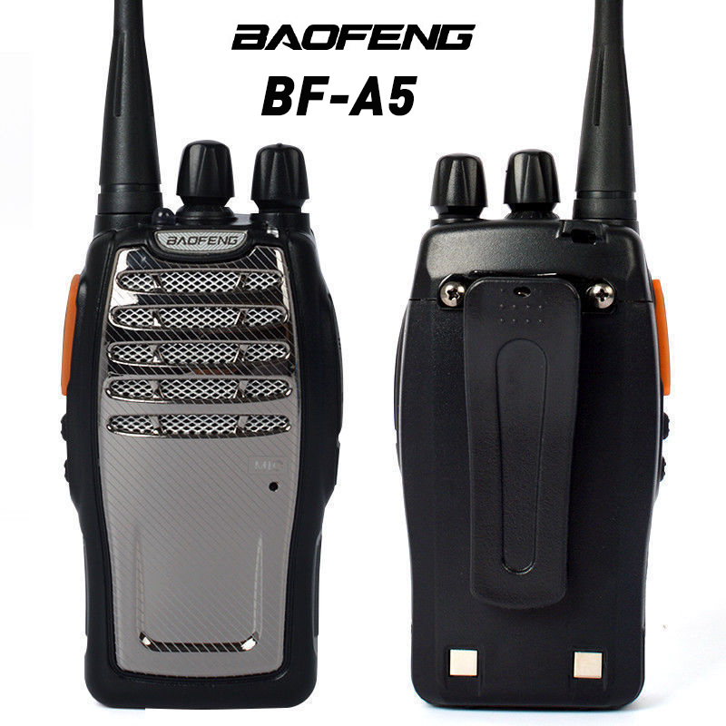 2017 tragbare Wasserdichte Baofeng BF-A5 Walkie Talkie Two Way <font><b>Radio</b></font> UHF 400-470MHz image
