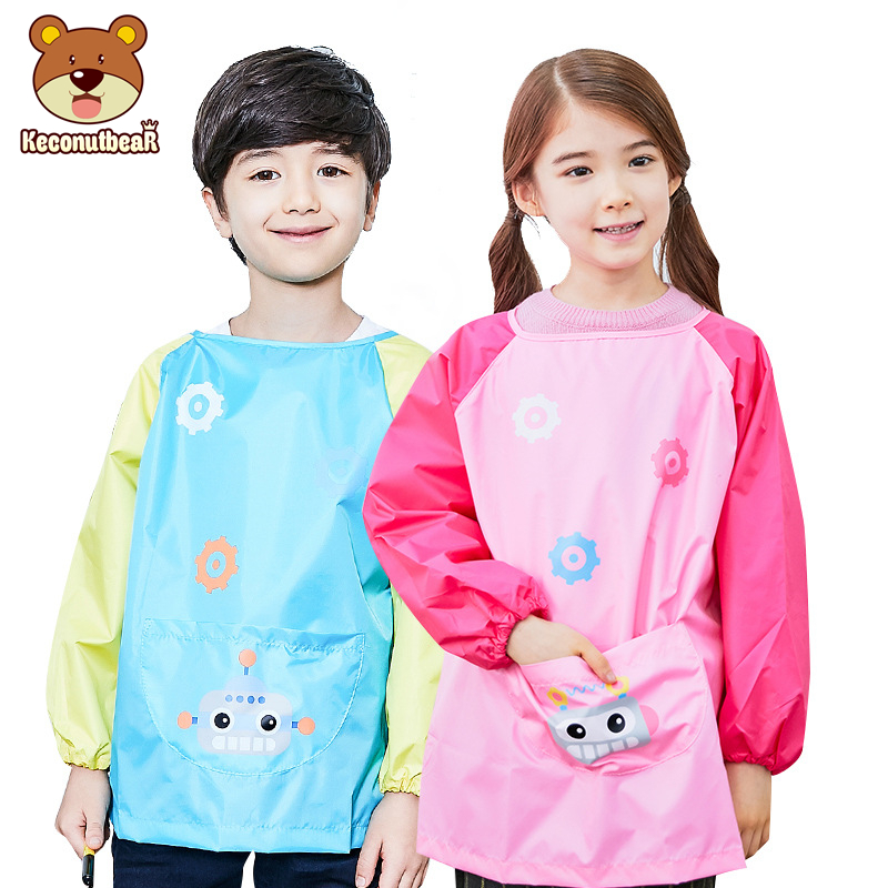 tabard clothing  wipe clean three prints age 2-4 year Kids apron