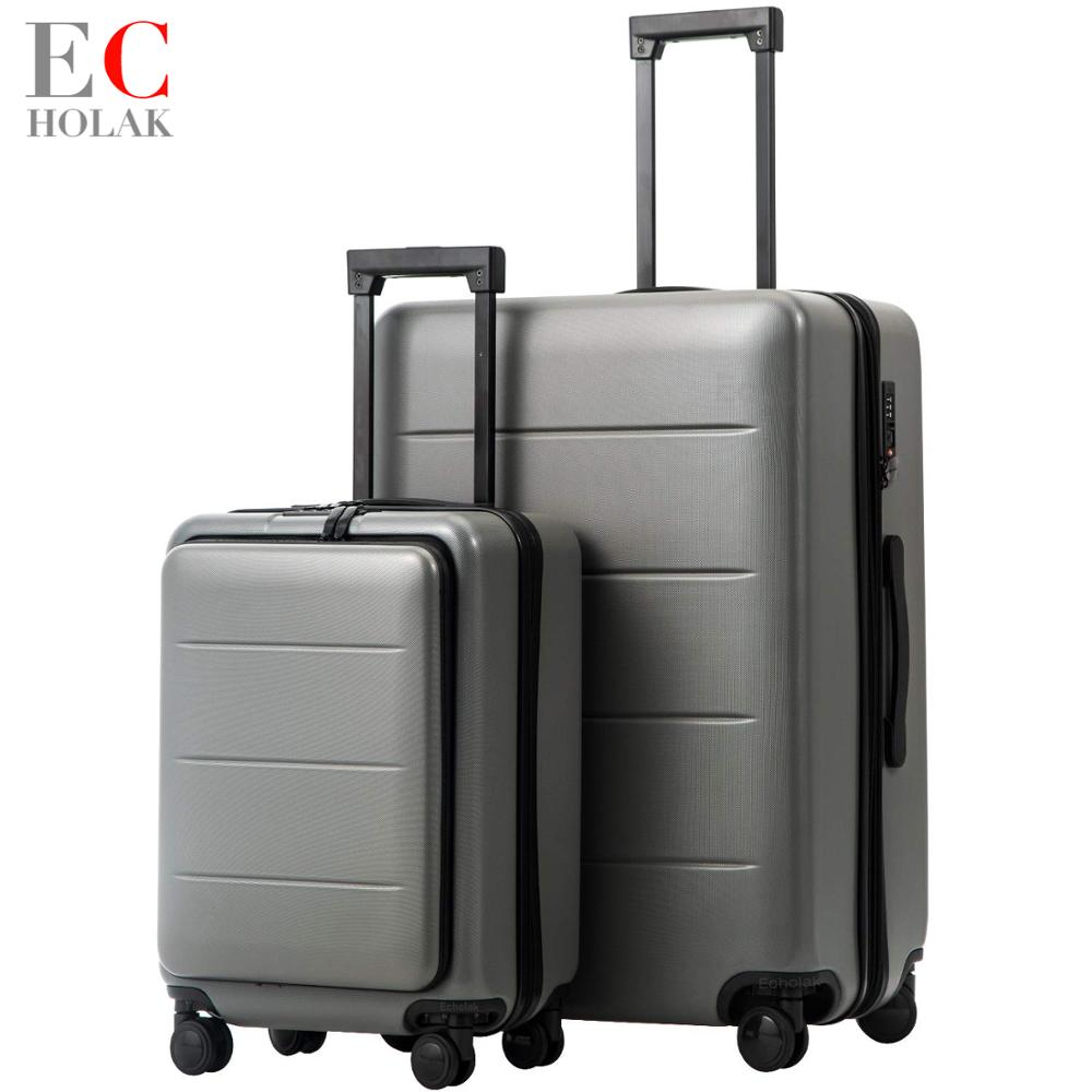 Spruce Christmas Tree Travel Luggage Protector Case Suitcase Protector For Man/&Woman Fits 18-32 Inch Luggage