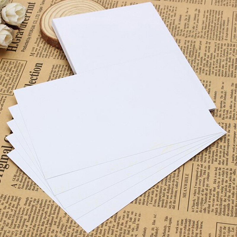 New 100 Sheets/lot Waterproof Gloss Glossy Photo Paper For Inkjet Printer Photographic 102x152mm Office School Supplies