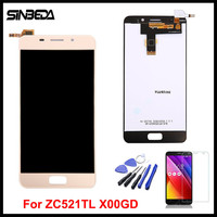 Sinbeda AAAA Quality 5 2 LCD For ASUS Zenfone 3s Max ZC521TL X00GD LCD Display Touch