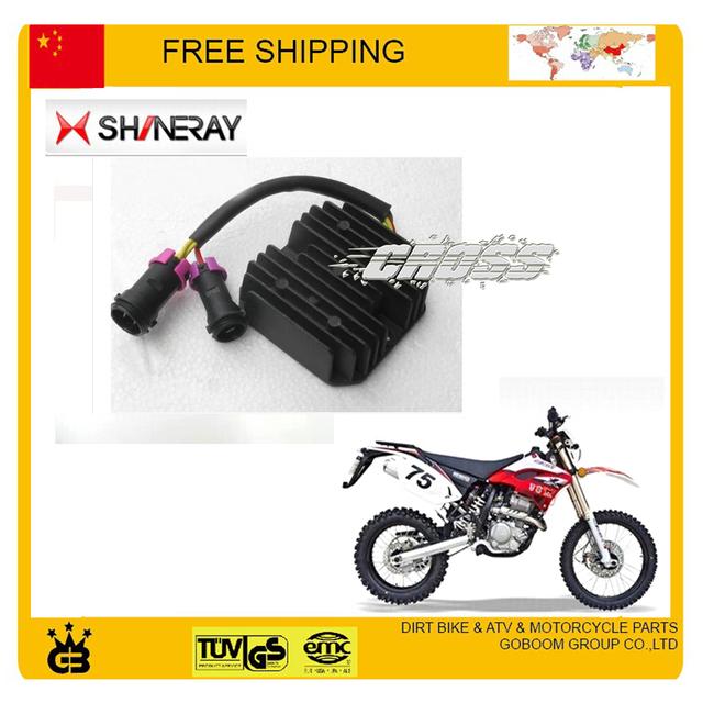 Shineray X2 X2X anéis de 250CC motocicleta regulador retificador frete grátis
