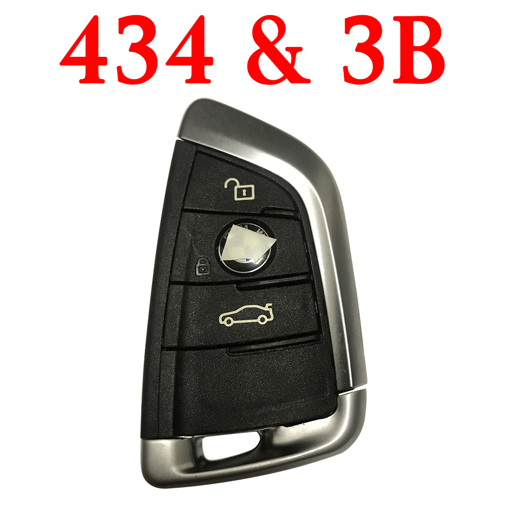 3 Buttons 434 MHz Smart Proximity Key for BMW FEM F Series Cars