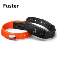 Fuster Genuine Heart Rate Tracker Fitness Smart Bracelet V05C Pulsometer Smartband SMS Vibration Alert Wristband Mileage