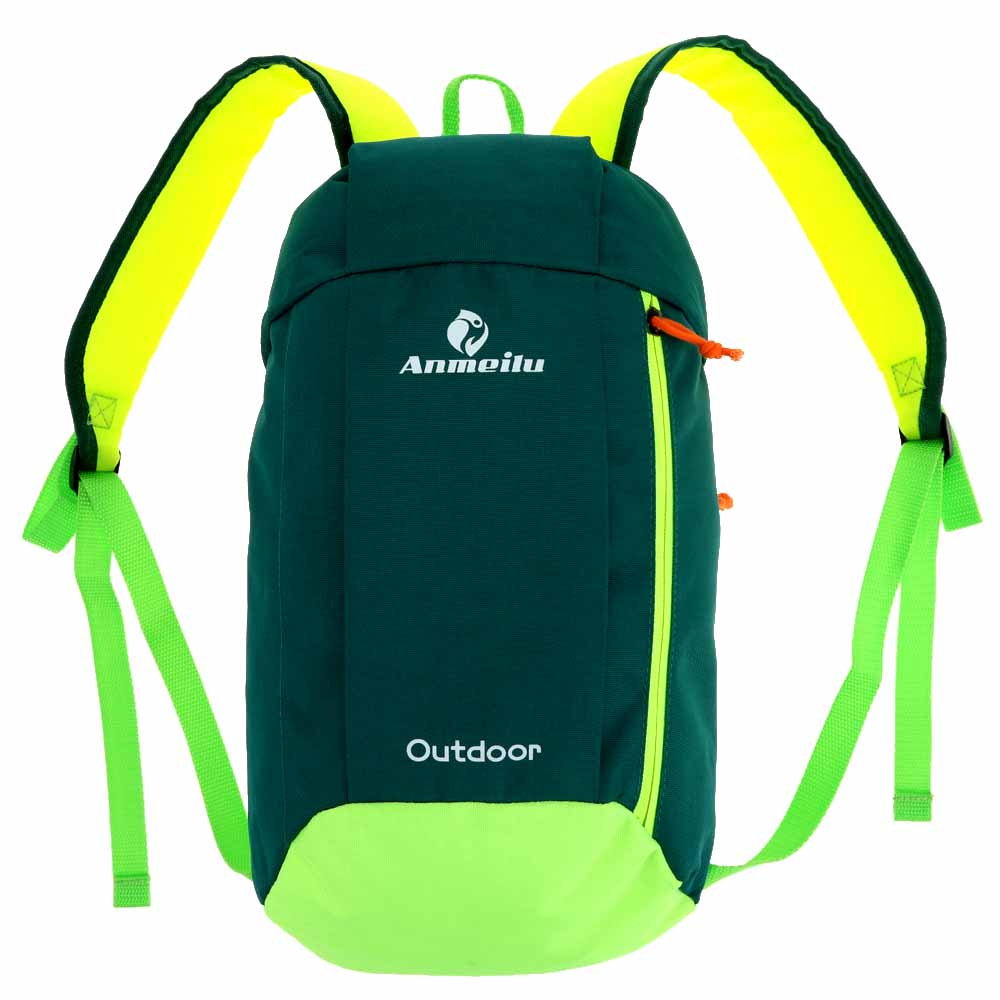 ANMEILU 10L Climbing Bags Men Unisex Kids Pack Cycling Bags Rucksack  Outdoor Backpack Leisure Sports Bags for Traveling Hiking-in Climbing Bags  from Sports ... b8dc4419b4