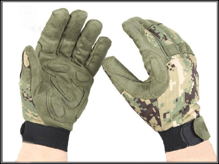 AOR2 Tactical Lightweight Kryptek Camo gloves full finger Mandrake Police gloves Highlan ...