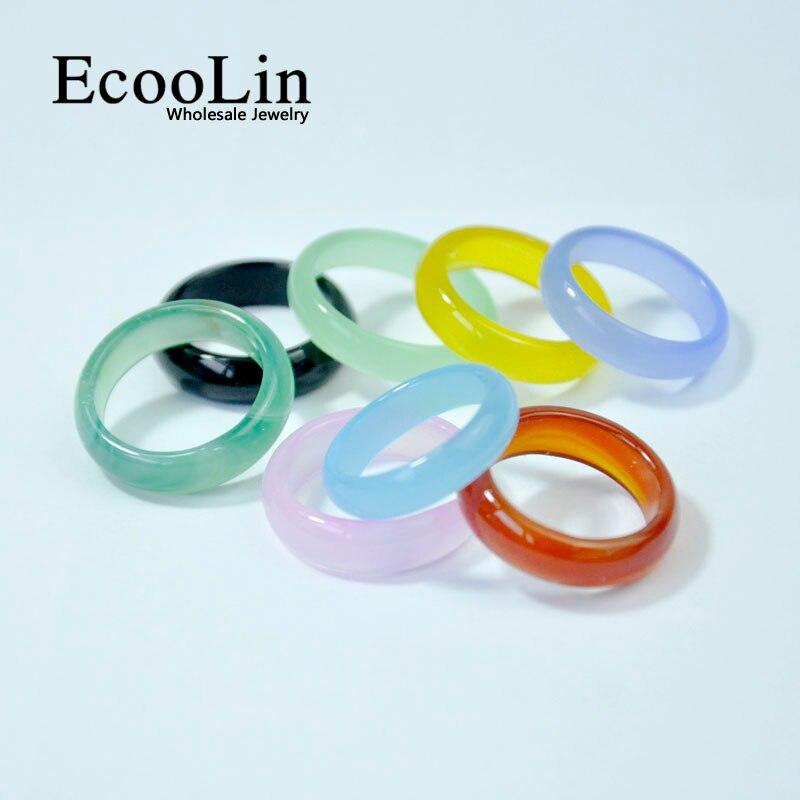 10 шт., многоцветные кольца для девочек и женщин, разные цвета, LR4020