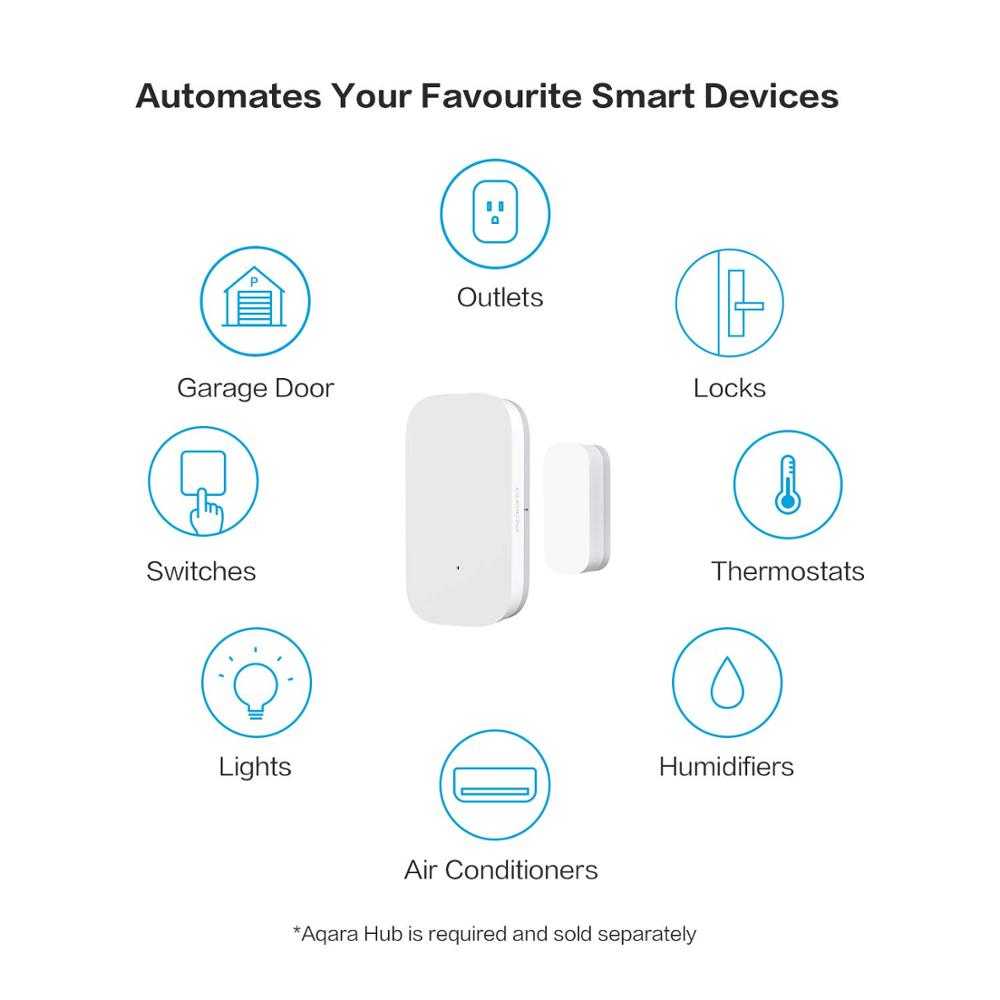 Xiaomi Aqara Door Window Sensor Wireless Zigbee Function Smart Remote Control For Android IOS Phone Door Remote With Mi App