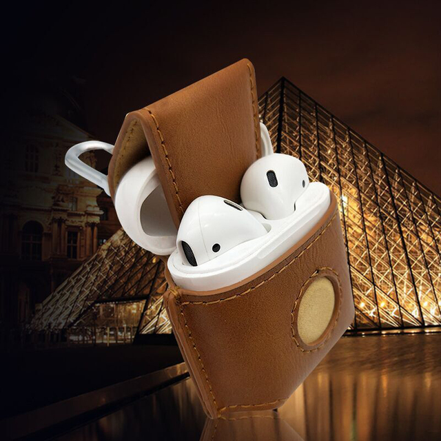 Stitch Leather AirPod Case Cover