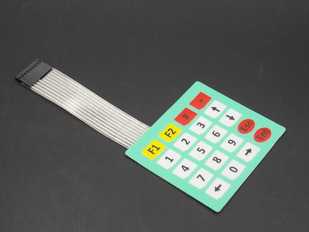 4x5 Matrix Array 20 Key Membrane Switch Keypad Keyboard 4*5 Keys