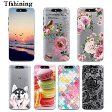 Tfshining Phone Cases for ZTE Blade V8 5.2 Soft Silicone Back Cover Case For bags Fundas Capa
