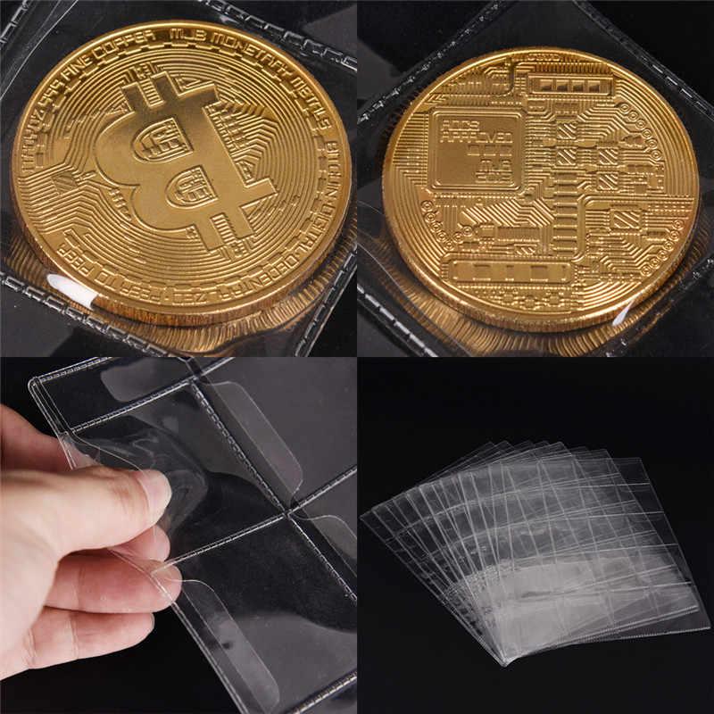 1ページ20ポケットコレクションお金アルバムケースバッグプラスチックコインホルダー収納