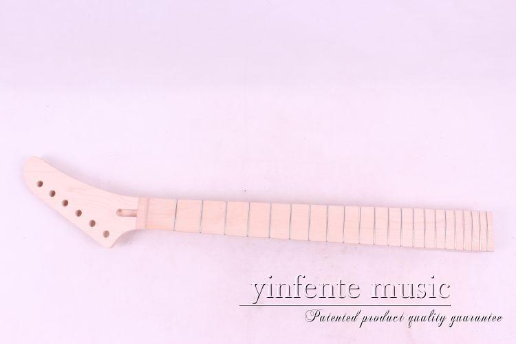 ФОТО Unfinished electric guitar neck  maple made    MAPLE  fingerboard