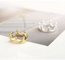 Crown anillos покрытием обручальное свадьбы горячие серебро золото кольца изделия ювелирные