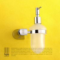 BULUXE Brass Bathroom Accessories Liquid Soap Dispenser Wall Mounted Dispensador de jabon Bath Acessorios de banheiro HP7720