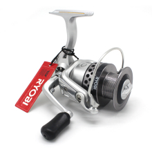 Original Ryobi Pilot Spinning Fishing Reel NAVIGATOR Max Drag 5Kg Aluminum Spool Tackle