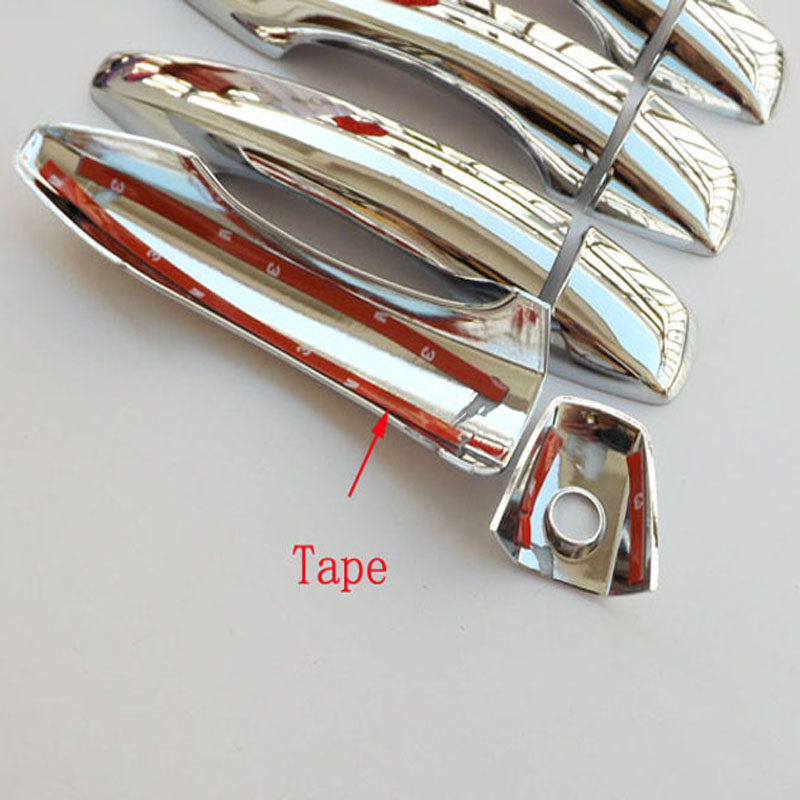 ABS chrome door handle cover For Citroen C Elysee 2 ii ce c elysee 2014 2015 2016 2017 accessories in Chromium Styling from Automobiles Motorcycles