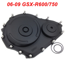 For Suzuki 06-09 GSXR600 GSXR750 GSXR 600 750  Engine Stator Crank Case Cover Engine Guard Side Shield Protector 2006 2007-2009 free shipping motorcycle parts billet engine stator cover see through for suzuki gsxr 600 750 2006 2013 black left